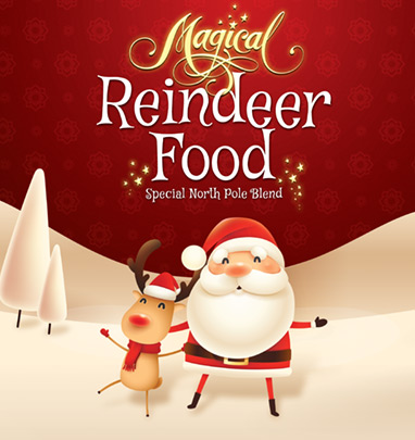 Reindeer Food Packet