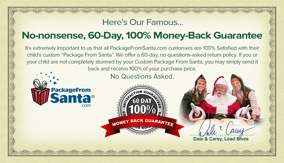 Order Personalized Letters From Santa Claus North Pole