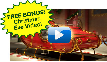 FREE BONUS Personalized Christmas Eve Video