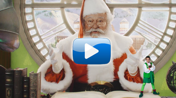 FREE! Personal Video Greeting from Santa Claus