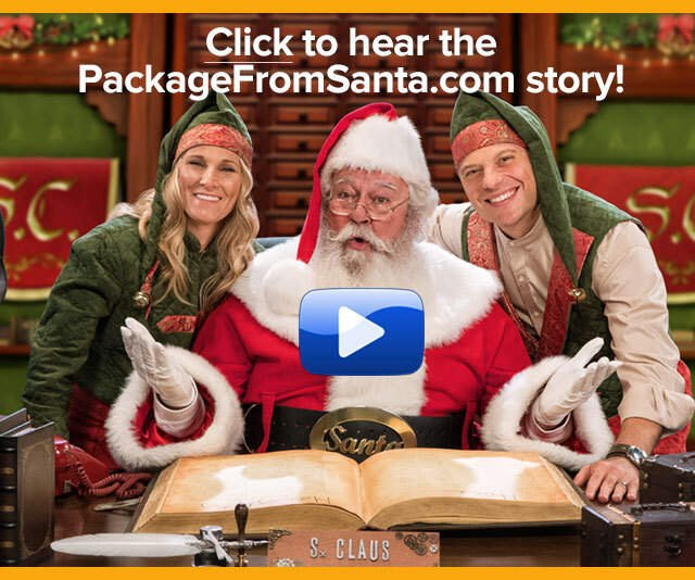Click to learn about the PackageFromSanta.com story!