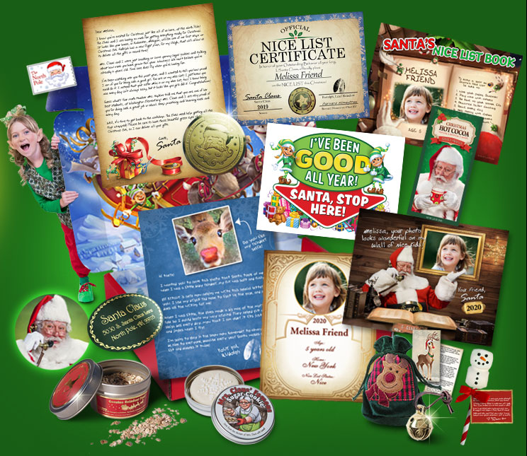 Amaze your child with a Personalized Package from Santa®! Includes letter, certificate, phone call, video and more! 20% off coupon: SHAREUS20