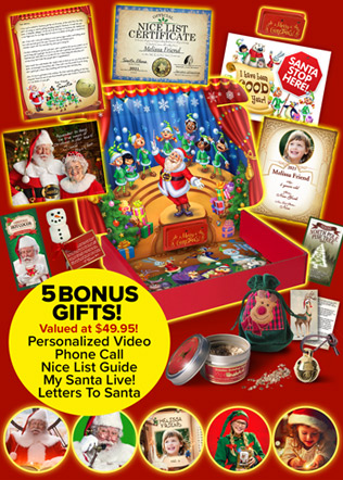 packages from santa letters inspired by start a new and memorable tradition 8388