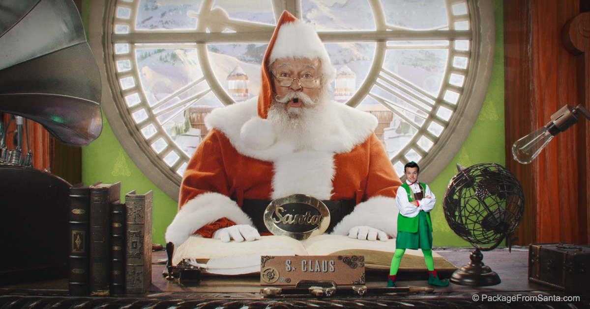 A free personalized video from santa claus app free video from a free personalized video from santa claus app free video from santa himself spiritdancerdesigns Image collections